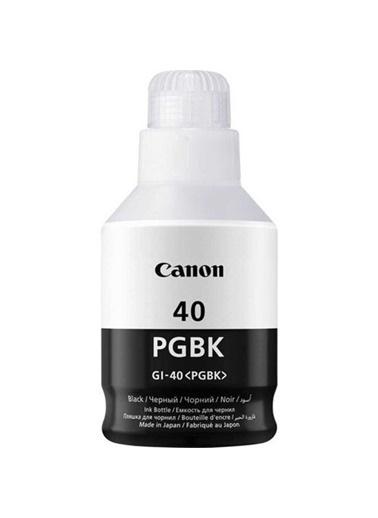 Canon Canon Gı-40Bk Mürekkep Kartuş Orj. Renkli